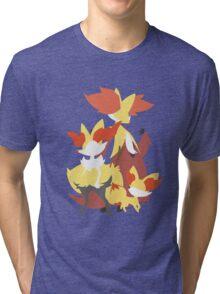 Fennekin Evolution Tri-blend T-Shirt