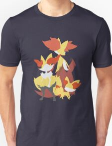 Fennekin Evolution T-Shirt