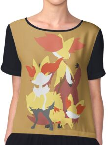 Fennekin Evolution Chiffon Top