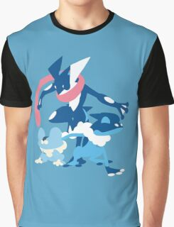 Froakie Evolution Graphic T-Shirt