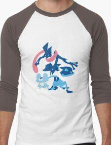 Froakie Evolution Men's Baseball ¾ T-Shirt