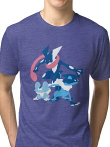 Froakie Evolution Tri-blend T-Shirt