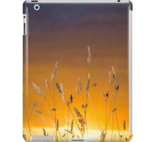 beautiful sunset over the ballybunion coast iPad Case/Skin