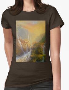 Rivendell Home Of Elves  Womens Fitted T-Shirt