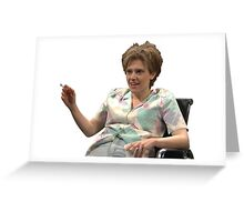 Did yall get the knocker stuff? Greeting Card