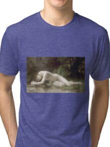 William-Adolphe Bouguereau - Biblis Tri-blend T-Shirt