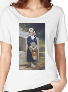 William-Adolphe Bouguereau - Innocence Women's Relaxed Fit T-Shirt
