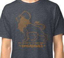 Dreadbag - Lion - Who the cap fit - Let them wear it! Classic T-Shirt