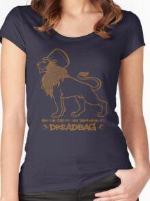 Dreadbag - Lion - Who the cap fit - Let them wear it! Women's Fitted Scoop T-Shirt