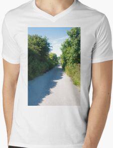 Country Road                            Mens V-Neck T-Shirt