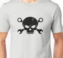 Skull 'n' Tools - Screw Pirate 2 (black) Unisex T-Shirt