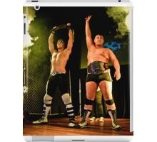 Mr Juicy and JXT win the MCW Tag Titles  iPad Case/Skin