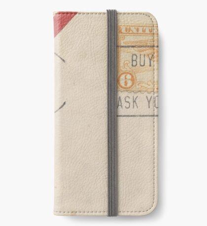 Air Mail Envelope iPhone Wallet/Case/Skin