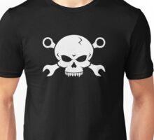 Skull 'n' Tools - Screw Pirate 2 (white) Unisex T-Shirt