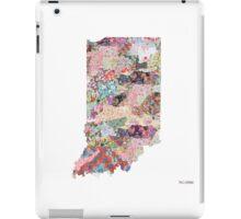 Indiana map iPad Case/Skin
