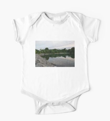 Summer Morning Tranquility - Lake Ontario in Toronto One Piece - Short Sleeve