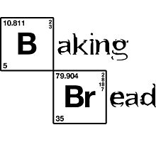 Baking bread Photographic Print