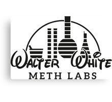 Walter White Meth Labs Canvas Print
