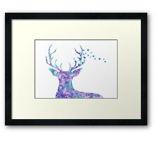Flowing with the Wind Framed Print