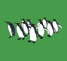 March of Penguins Baby Tee