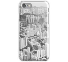 Residential and business area of east Hong Kong iPhone Case/Skin