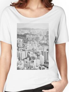 Residential and business area of east Hong Kong Women's Relaxed Fit T-Shirt