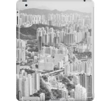 Residential and business area of east Hong Kong iPad Case/Skin
