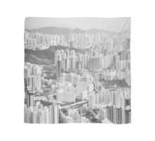 Residential and business area of east Hong Kong Scarf
