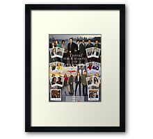 Thanks Castle Framed Print