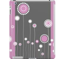 Retro Floral Pattern iPad Case/Skin