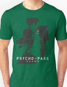white psyco pass Kougami Shinya Unisex T-Shirt