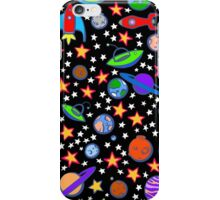 Retro Space iPhone Case/Skin