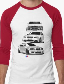 Three BMW Monster Men's Baseball ¾ T-Shirt