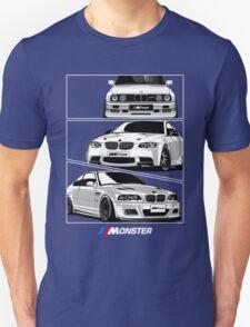 Three BMW Monster T-Shirt