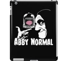 Abby Normal v2 iPad Case/Skin