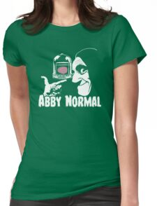 Abby Normal v2 Womens Fitted T-Shirt