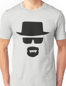 Black Hat with Cool Man Unisex T-Shirt