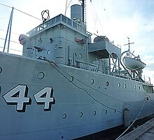 HMAS Castlemaine - Corvette Minesweeper - WW11 - Vic. Australia by EdsMum