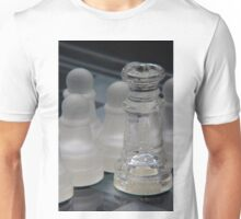 Chess Queen and Pawns Unisex T-Shirt