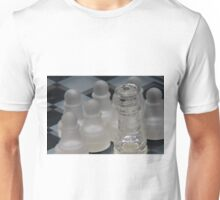 Chess Queen Surrounded by Pawns Unisex T-Shirt