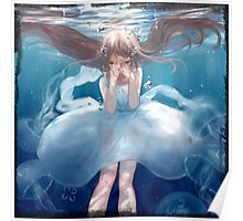 Aqua Girl Poster