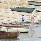 Boats and boats by Claudia Dingle