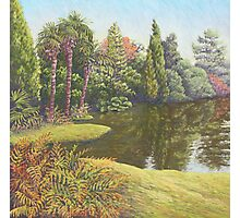 Sheffield Park Gardens, East Sussex in Pastel Photographic Print