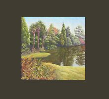 Sheffield Park Gardens, East Sussex in Pastel Womens Fitted T-Shirt