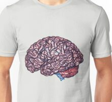 Brain Storming - Pink Unisex T-Shirt
