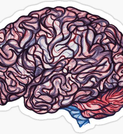 Brain Storming - Pink Sticker