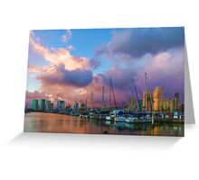 Tropical Sky - Impressions of Hawaii Greeting Card