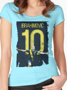 ibrahimovic 10 Women's Fitted Scoop T-Shirt