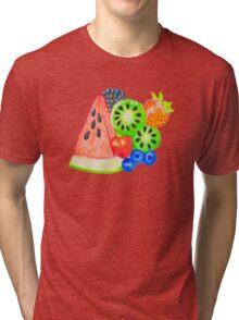 Mixed Fruit Tri-blend T-Shirt