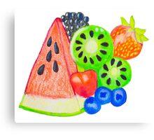 Mixed Fruit Canvas Print